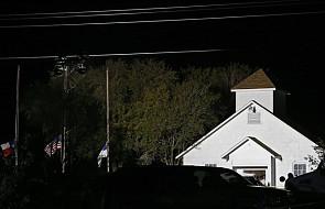 USA: co najmniej 26 osób zginęło w strzelaninie w kościele na południu Teksasu