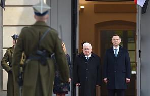 Prezydent Iraku rozpoczął dwudniową wizytę w Polsce, rozmowy będą głównie dotyczyły bezpieczeństwa