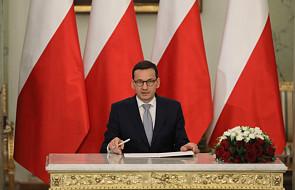 Po południu expose premiera Morawieckiego. Głosowanie nad wotum zaufania - w środę rano