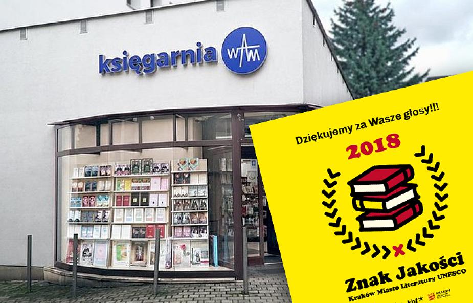 Księgarnia Wydawnictwa WAM zwyciężyła w plebiscycie na księgarnię roku