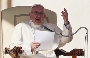 """Papież: """"to są bardzo ciężkie grzechy, które psują serca dziennikarzy"""""""