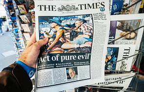 """""""Times"""": Kreml podsycał w Wielkiej Brytanii niepokój po aktach terroru"""