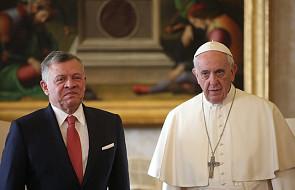 Sprawa Jerozolimy tematem rozmowy papieża z królem Jordanii