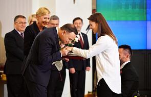 Prezydent Duda wręczył odznaczenia państwowe paraolimpijczykom