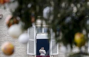 Papież Franciszek: dziękujmy Bogu i ludziom za rok 2017