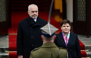 Spotkanie premier Beaty Szydło z premierem Albanii Edim Ramą