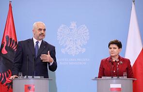 Premierzy Polski i Albanii: będziemy rozwijać i umacniać relacje pomiędzy Polską i Albanią