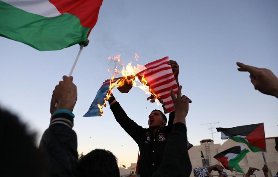 Demonstracje w krajach arabskich przeciw decyzji Trumpa w sprawie Jerozolimy