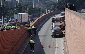 Kradzież ciężarówki w Barcelonie: to nie zamach