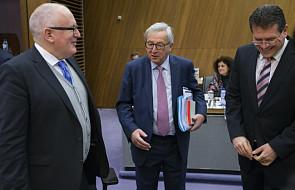 Timmermans poinformował KE o dialogu z Polską; na razie bez decyzji