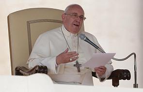 Franciszek: egoizm niszczy nawet najpiękniejsze rzeczy [DOKUMENTACJA]