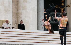 Kontrowersyjny występ cyrkowców w Watykanie