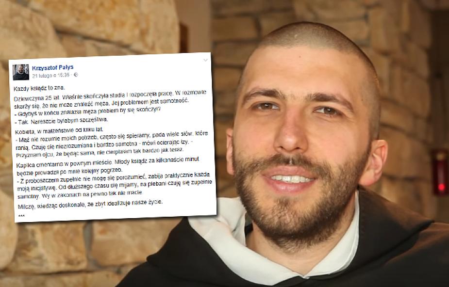 """Krzysztof Pałys OP: """"to zniszczy każdą relację"""""""
