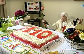 Papież wysłał życzenia zakonnicy, która skończyła 110 lat