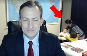 Ekspert BBC wytrącony z równowagi w programie na żywo [WIDEO]