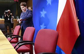 Szczyt UE: ostra wymiana zdań na koniec