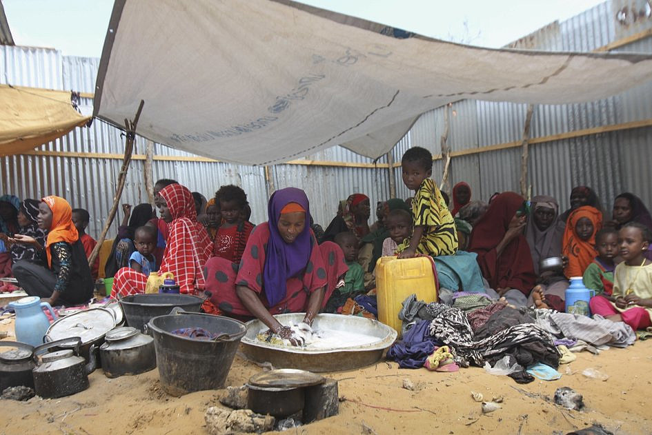 Somalia: wskutek głodu w ciągu 48 godzin zmarło 110 osób - zdjęcie w treści artykułu nr 1