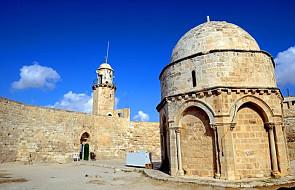 Podpalono Kaplicę Wniebowstąpienia na Górze Oliwnej