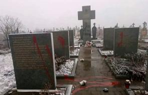 Ukraińska policja oczyściła polskie pomniki