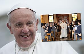 Zakonnice z Rzymu czekały na księdza, przyszedł do nich papież