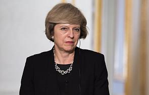 """Premier May """"myślami z zabitymi i rannymi w przerażającym ataku"""""""