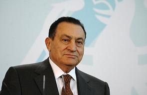 Mubarak, były prezydent Egiptu, jest na wolności