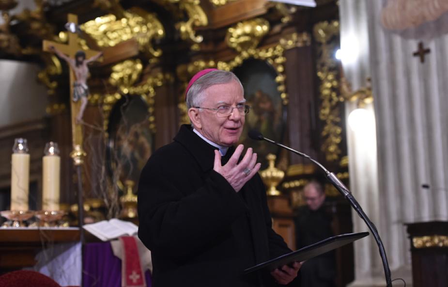 Abp Jędraszewski: Bóg kocha, bo przebacza