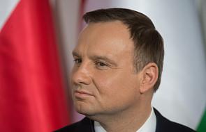 """Prezydent Duda o """"problemie Misiewicza"""" i wakatach w armii"""