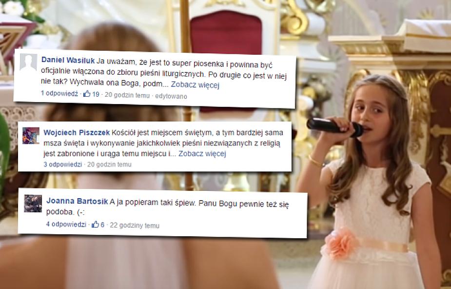 Hallelujah ze Shreka w czasie Mszy św. Jak reagują internauci?