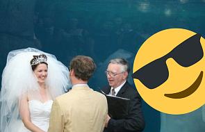Mistrz drugiego planu zniszczył piękne ślubne zdjęcie