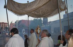 Franciszek przeniósł procesję Bożego Ciała na niedzielę