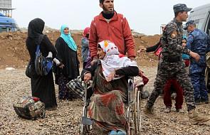 Irak: ponad 200 tys. cywilów opuściło ogarnięty walkami Mosul