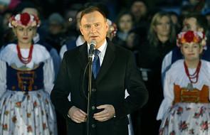 Duda: ogromnie mi zależy, żeby Śląsk kwitł i się rozwijał