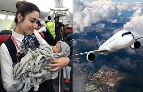 Tak wyglądają narodziny dziecka 12 km nad ziemią