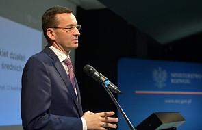 Morawiecki przedstawił pakiet wsparcia dla miast