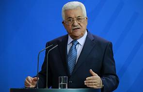 Prezydent Autonomii Palestyńskiej napisał list do papieża