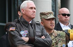 Wiceprezydent USA ostrzega Koreę Północną