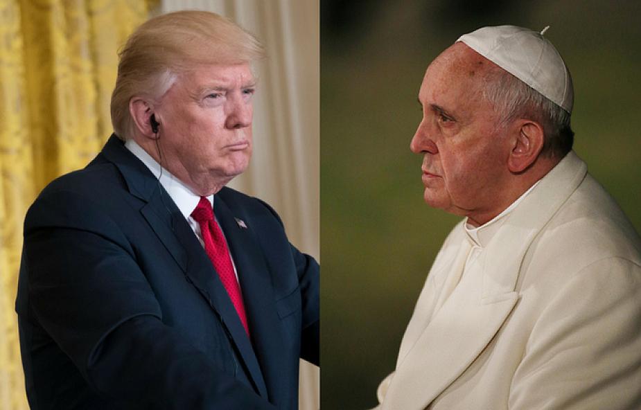 Trump chce się spotkać z papieżem Franciszkiem