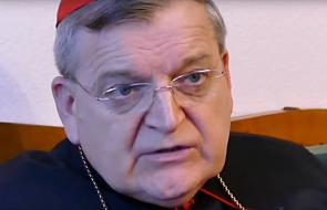 Kard. Burke modlił się w Kaliszu z kapłanami