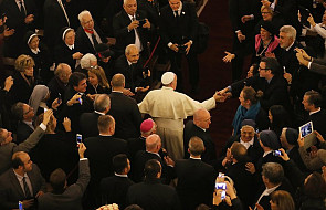 """""""Franciszek jedzie do Egiptu całkowicie bezbronny"""""""