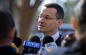 Morawiecki w USA spotka się ministrem handlu