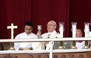 Franciszek odprawił Mszę św. z udziałem ponad 20 tys. osób