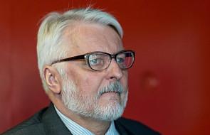 Waszczykowski odrzuca sugestie ws. kar dla Polski