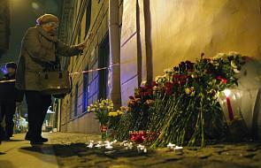 W Petersburgu żałoba po zamachu w metrze