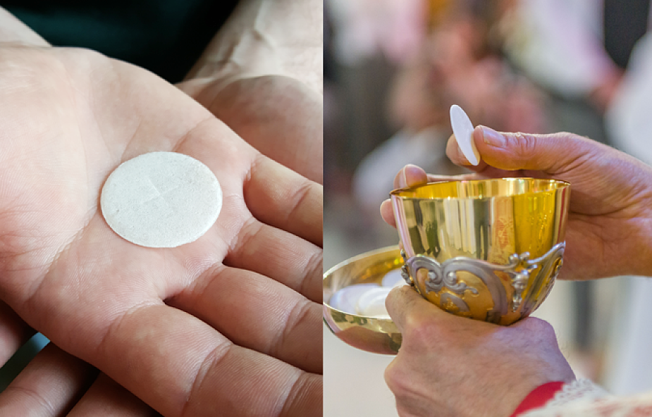 Komunia święta do ręki, czy do ust? Jak przyjmować? [WYJAŚNIAMY]