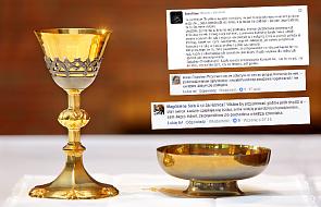 Jak przyjmować Komunię w czasie mszy? Na rękę? Do ust? Internauci komentują