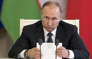 Putin odrzuca oskarżenia ws. ataku chemicznego w Syrii