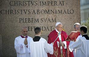 Papież modlił się za ofiary zamachów w Szwecji i w Egipcie