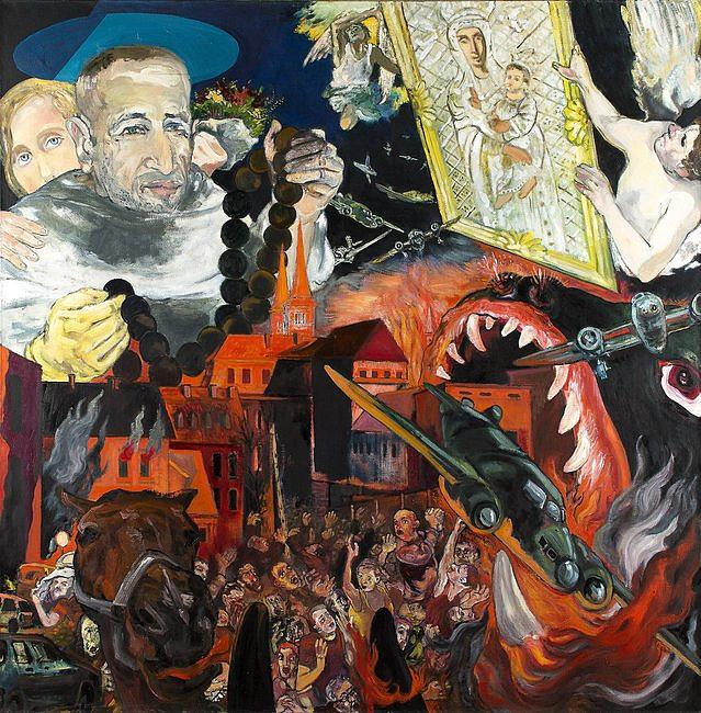 Kraków: wystawa malarstwa Grzegorza Bednarskiego - zdjęcie w treści artykułu