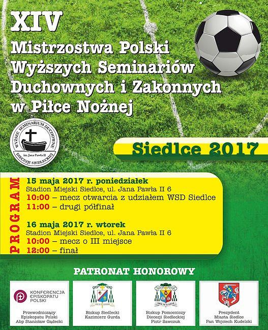 Seminaria duchowne zmierzą się w ogólnopolskich mistrzostwach piłki nożnej - zdjęcie w treści artykułu nr 1
